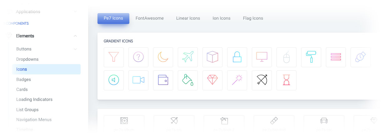 ArchitectUI - Modern Responsive Bootstrap 4 jQuery HTML Dashboard